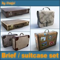 max briefcase suitcase
