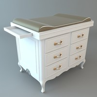 Baby Diaper Changing Dresser