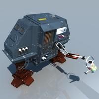 drone 1 dewey 3d c4d