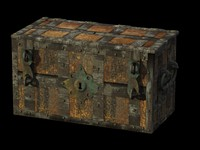 3dsmax wrought iron chest furniture