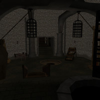 dungeon torture chamber 3d model