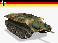 germany tanks e10 panzer 3d model