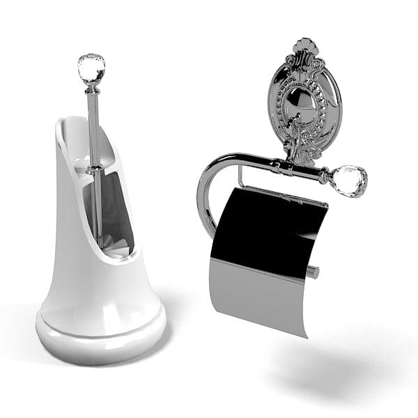 Lineatre Toilet Brush 3ds