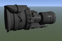 universal night sight 3d model
