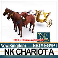 Ancient Egyptian Chariot A New Kingdom