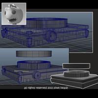 3d model slide projector