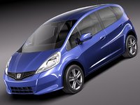 honda jazz fit japan 3d 3ds