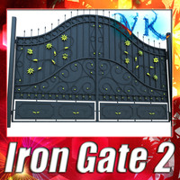 Iron Gate 02 and High Resolution Textures