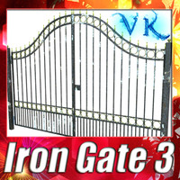 Iron Gate 03 + High resolution textures.