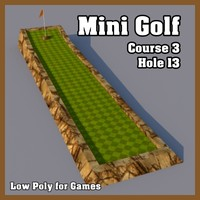 maya mini golf hole