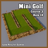 dxf mini golf hole