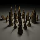 stalagmite 3D models