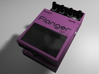 cinema4d pedal boss flanger bf-2
