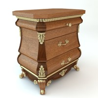 Nightstand Chest of Drawers