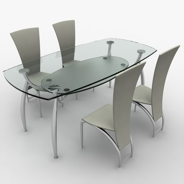 3ds dining table : 1jpg52434772 7ce3 4735 a266 30c72c5f5437Large from www.turbosquid.com size 600 x 600 jpeg 29kB