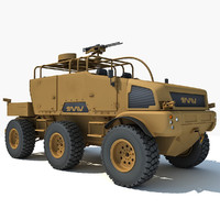 3dsmax british military vehicle tmv