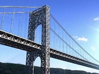 george washington bridge 3d model