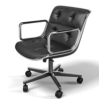 Charles pollock knoll executive task chair