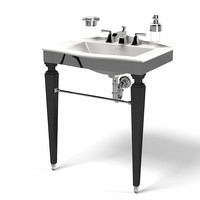 Devon & devon berkley bathroom furniture sink lavatory kohler faulet dispencer soap kit