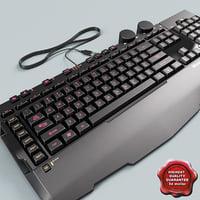 c4d keyboard microsoft sidewinder x6