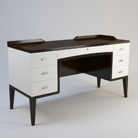 3d model baker crawford vanity 4092