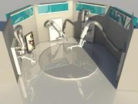 - machine 3d model