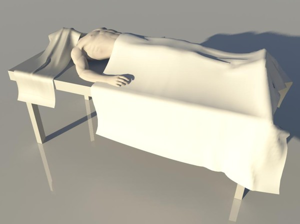 3d obj - dead - Game - Dead Body... by aBernik