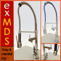 Spray Mixer Tap (vray & mr)