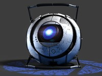 Wheatley - Portal 2 Video Game Character Animated