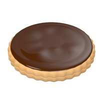 3d biscuit filled