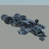 Detailed Command Space Ship 01
