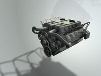 engine 3d c4d