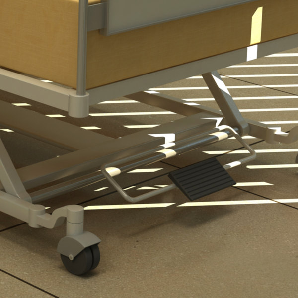 max hospital bed - Hospital bed 03... by RippleDesign