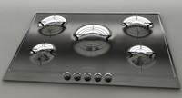 cooktop smeg ptv-705 3d max
