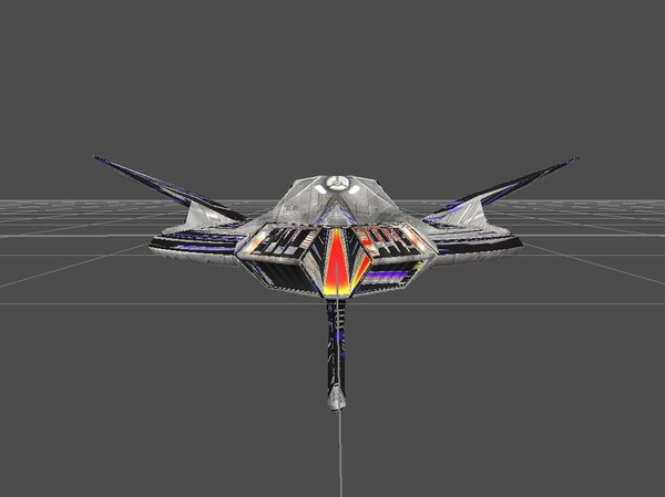 space ship flying tiger fbx - Flyingtiger... by TigersharkF
