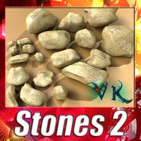 stones 02 resolution 1 3d max