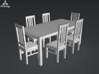 kitchen furniture 3d max