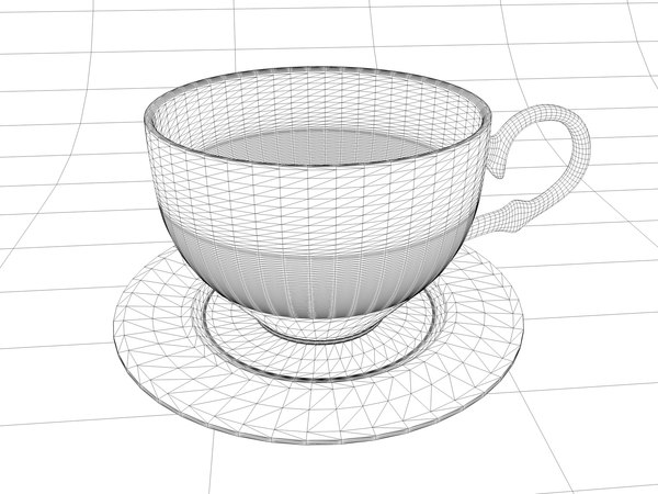 3d cup cafe - cafe cup... by tudor2