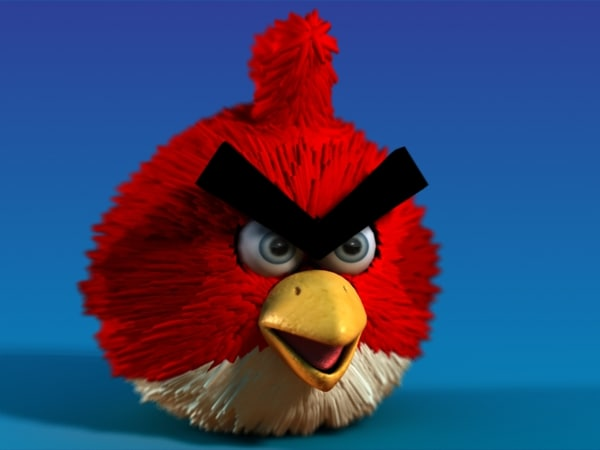 3d model character angry birds - Angry Bird... by MotionTech