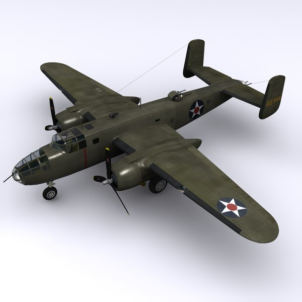 maya north american b-25 mitchell - B-25B Mitchell - Doolittle Raid... by file404