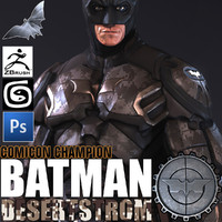 man batman bat 3d max