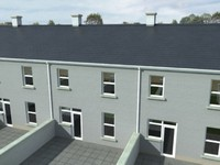 3d model terraced houses