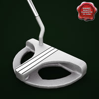 Odyssey White Steel 2 Ball