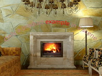 3d fireplace 03 model