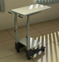 maya medical instruments cart
