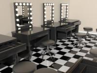 vanity mirror 3d model