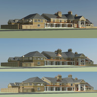 3d max mansion house