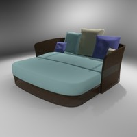 3ds max sofa outdoors resort