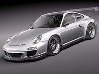 3d model porsche 911 gt3 cup