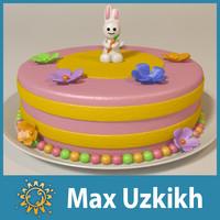 cake rabbit x